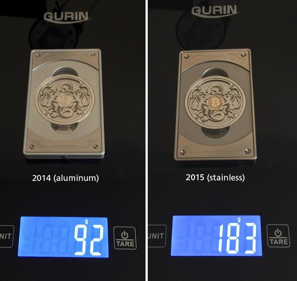 2015 Original 1BTC w/ Gold